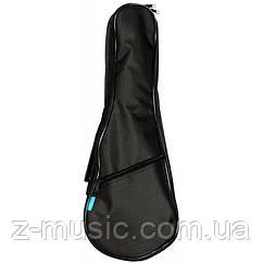 Чехол водонепроницаемый для укулеле сопрано UK21, черный