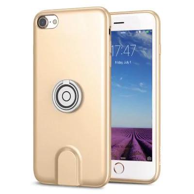 Чехол для Iphone Baseus Magnetic Wireless Charging 3 в 1 для iPhone 7/8 Золотистый (SUN1709)