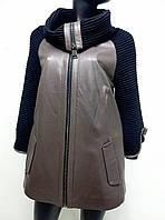 Жіноча куртка з натуральної шкіри Carloff Carmani