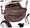 Детская универсальная коляска 2 в 1 Adamex Monte Deluxe Carbon D34, фото 7