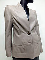Жіночий піджак з натуральної шкіри Via Dor'o