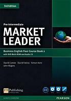 Market Leader (3rd Edition) Pre-Intermediate Flexi 2 Course Book + DVD-ROM
