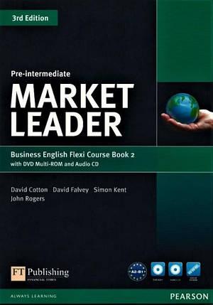 Market Leader (3rd Edition) Pre-Intermediate Flexi 2 Course Book + DVD-ROM, фото 2