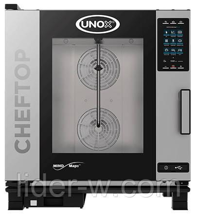 Пароконвектомати UNOX серії ChefTop Mind.Maps