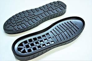 Подошва для обуви мужская 7259 чорн р.41-45, фото 2