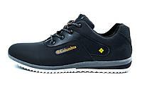Мужские кожаные кроссовки в стиле Columbia
