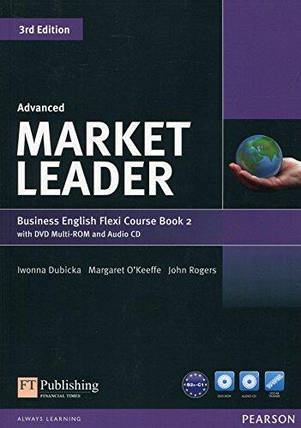 Market Leader (3rd Edition) Advanced Flexi 2 Course Book + DVD-ROM, фото 2