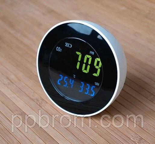 термогигрометр  + газоанализатор углекислого газа HT-501