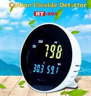 Стильный газоанализатор + термогигрометр HT-501 Xintest для ежедневного контроля микроклимата и уровня CO2