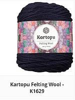 Kartopu Felting Wool - 1629 темно синий