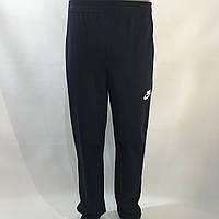 Спортивные штаны прямые в стиле Nike / трикотажные / черные р. 46,48,50,52,54, фото 1