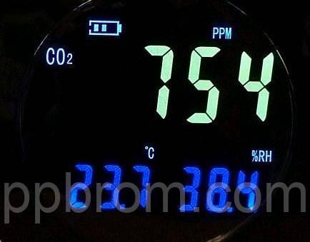 детектор газа CO2 - сигнализатор HT-501 Xintest