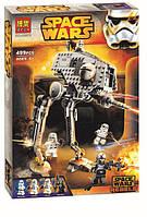 Конструктор Bela 10376 (аналог LEGO Star Wars) Вездеходная оборонительная платформа 499 деталей