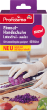 Нитриловые перчатки Profissimo без латексу белые ,60 шт.