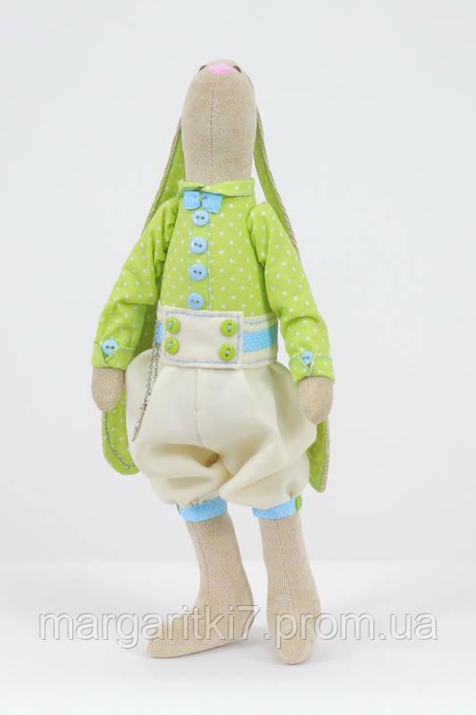 Интерьерная кукла Зайка Мальчик с ключиком