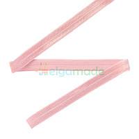 Тесьма эластичная для повязок, ПУДРОВАЯ РОЗОВАЯ, 15 мм