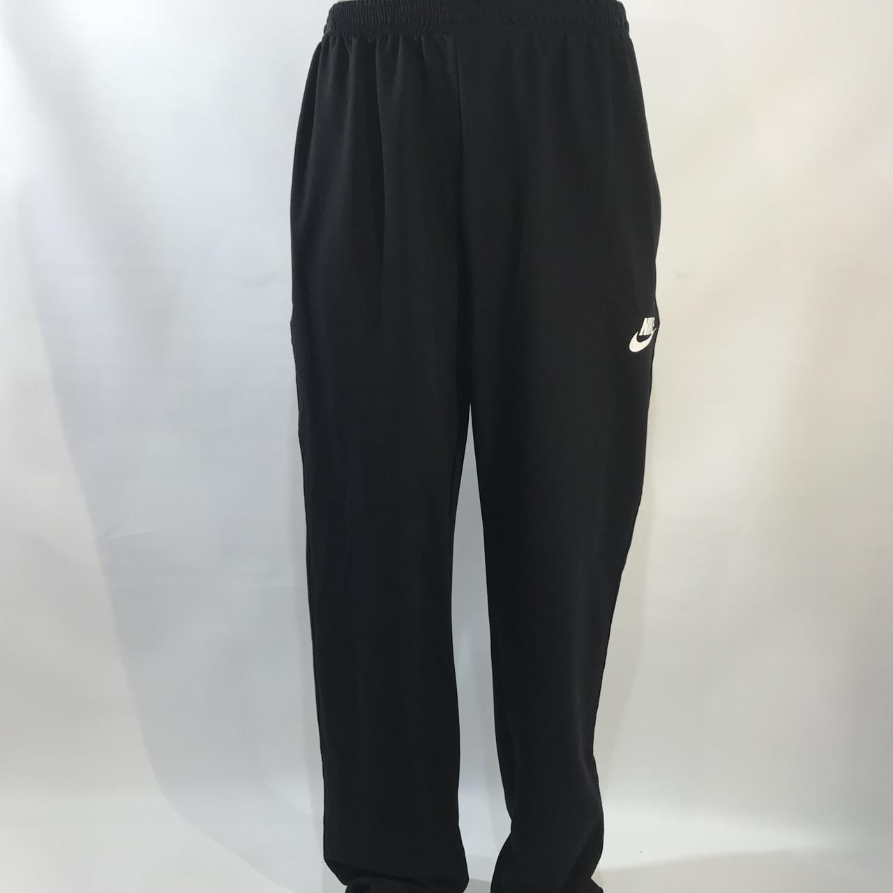 Спортивные штаны Nike (большой размер) / трикотажные / черные