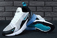 Женские кроссовки Nike Air Max 270  White/Blue, фото 1