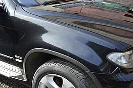 Крыло рестайлинг, рестайл,  крило, левое, ліве, правое, праве BMW X5 е53 БМВ Х5 2003-2006гв