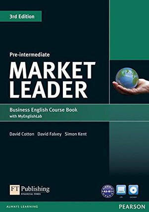 Market Leader (3rd Edition) Pre-Intermediate Course Book with DVD-ROM and MyEnglishLab, фото 2