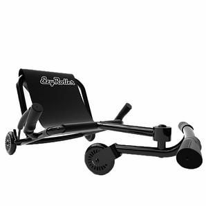 Самокат-каталка детский Ezr EzyRoller Classic - удобное сиденье, развивает скорость до 15 км/час black