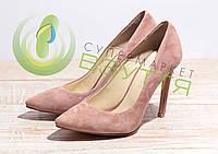 Туфли замшевые женские Leader style арт. 2322 пуд 36-39 размеры, фото 1