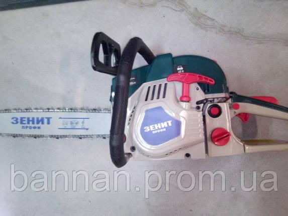 Бензопила Зенит БПЛ-455/2600 профи, фото 2