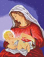Схема для вышивки Мадонна с младенцем
