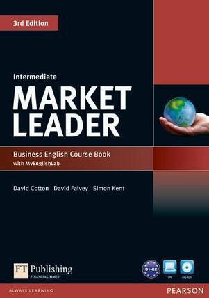 Market Leader (3rd Edition) Intermediate Course Book with DVD-ROM and MyEnglishLab, фото 2