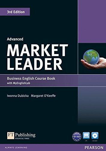 Market Leader (3rd Edition) Advanced Course Book with DVD-ROM and MyEnglishLab