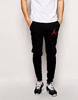 Мужские спортивные штаны Jordan, Джордан, черные