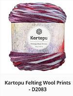 Kartopu Felting Wool Prints- 2083