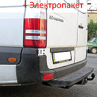 Фаркоп -из подножкой - Mercedes Sprinter Микроавтобус (2006-2013) L=3665/4350