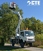 Мобильная рабочая платформа с телескопической стрелой CTE ZED 29