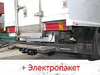 Фаркоп - из подножкой - Mercedes Sprinter Микроавтобус / Бортовой (2006--) L=3665/4351, фото 1