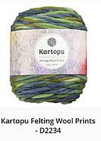 Kartopu Felting Wool Prints- 2234