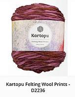 Kartopu Felting Wool Prints- 2236
