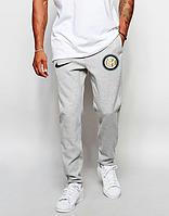 Мужские футбольные штаны Интер, Inter, серые