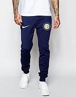 Мужские футбольные штаны Интер, Inter, синие