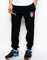 Мужские футбольные штаны Сборной Италии, Italy, черные