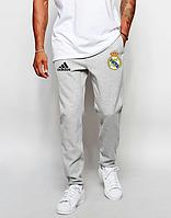 Мужские футбольные штаны Реал Мадрид, Real Madrid, серые