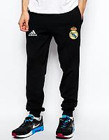 Мужские футбольные штаны Реал Мадрид, Real Madrid, черные