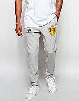 Мужские футбольные штаны Сборной Бельгии, Belgium, серые