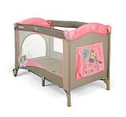 Кроватка-манеж Milly Mally Mirage Розовая корова (0446)
