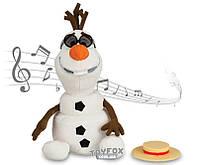 """Снеговик Олаф - поющая игрушка """"Холодное Сердце"""""""