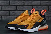 Женские кроссовки Nike Air Max 270 Yellow