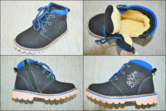 Ботиночки зимние, мальчик Jong Golf C 1259-0 фото