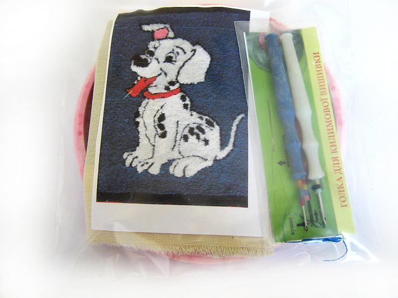 Набор для «ковровой вышивки»  2 иглы «Далматинец»