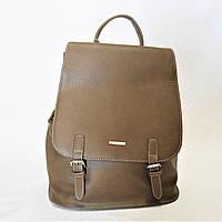 Прекрасный женский рюкзак DAVID DJONES цвета хаки TЕW-288840, фото 1