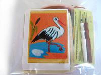 Набор для «ковровой вышивки»  2 иглы «Аист»